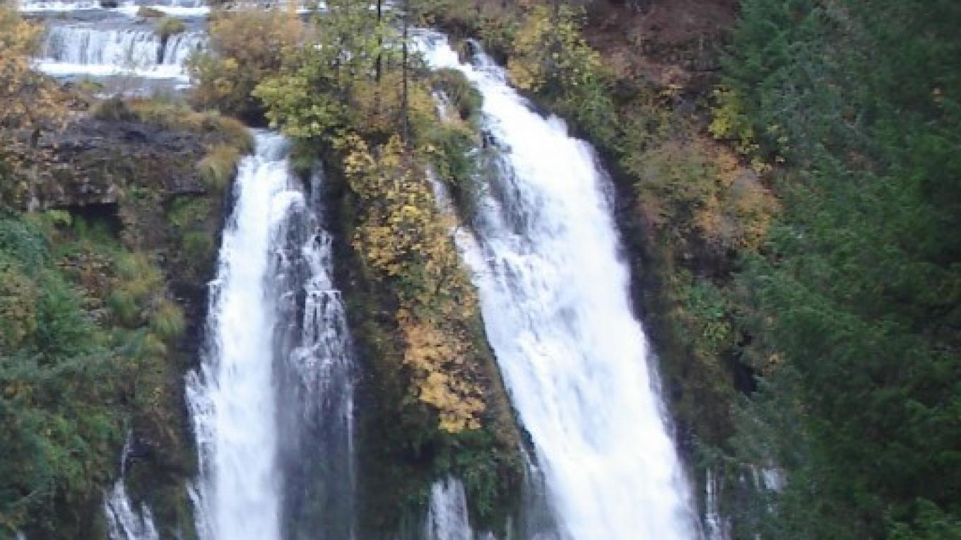 Burney Falls in autumn. – Ben Miles