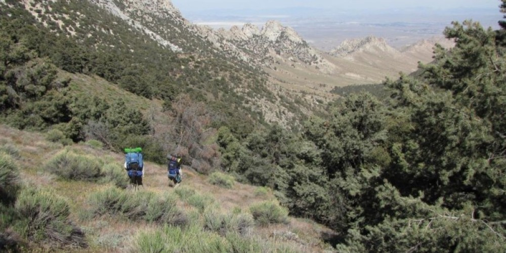 Backpacking in upper Indian Wells Canyon – Shelley Ellis