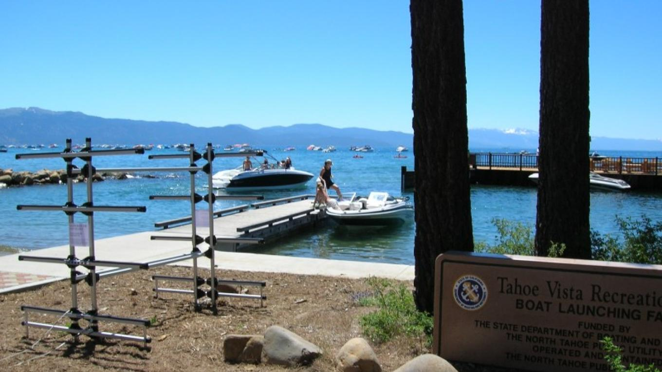 Boats launching during a high water year. – Pam Lefrancois