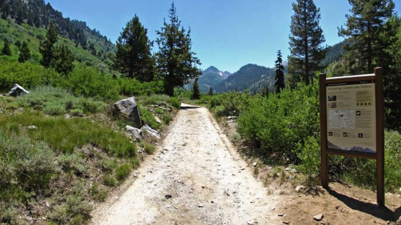 Franklin Pass Trailhead – NPS/Rick Cain