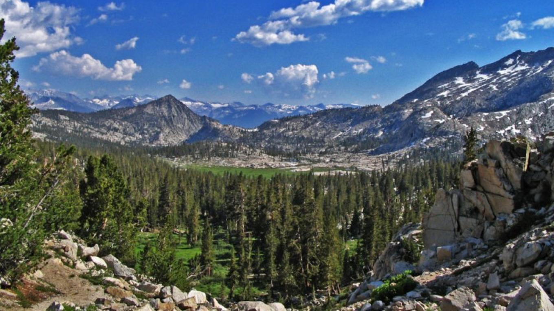 View of Granite Basin from Granite Pass – NPS/Rick Cain