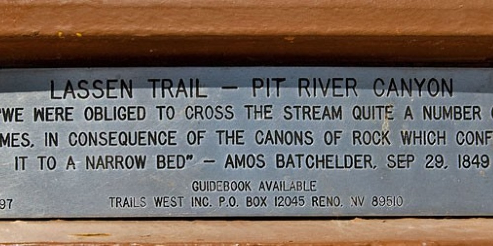 """""""We were unable to cross the stream quite a number of times, in consequence of the canons of rock which confine it to a narrow bed"""" - Amos Batchelder, Sep 29, 1849 – noehill.com"""