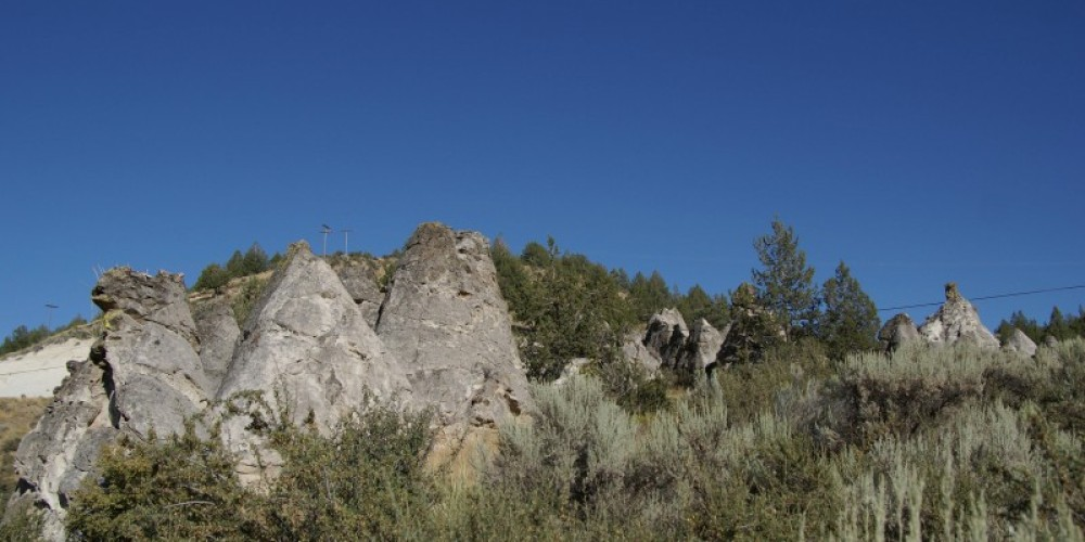 Conical rock formations. – Lorissa Soriano