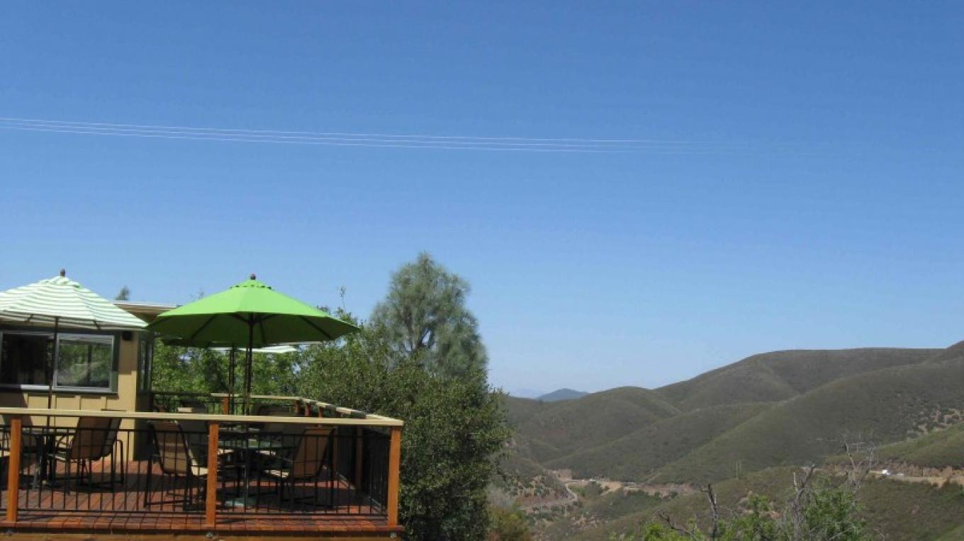 View from Priest Station Cafe deck.
