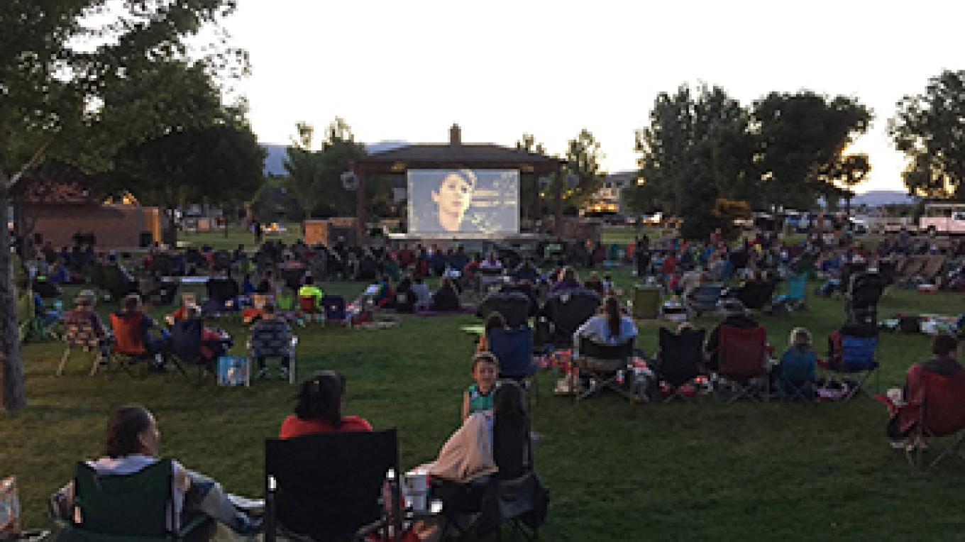 Movies in the Park 2016 - Night at the Museum – Staff photographer