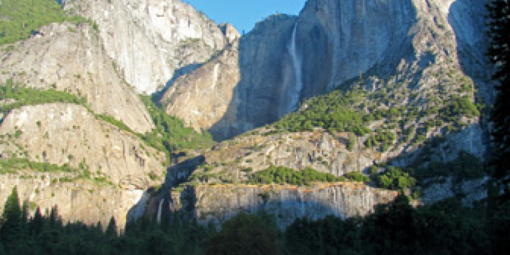 Morning View of Yosemite Falls from Cooks Meadow. – nps.gov
