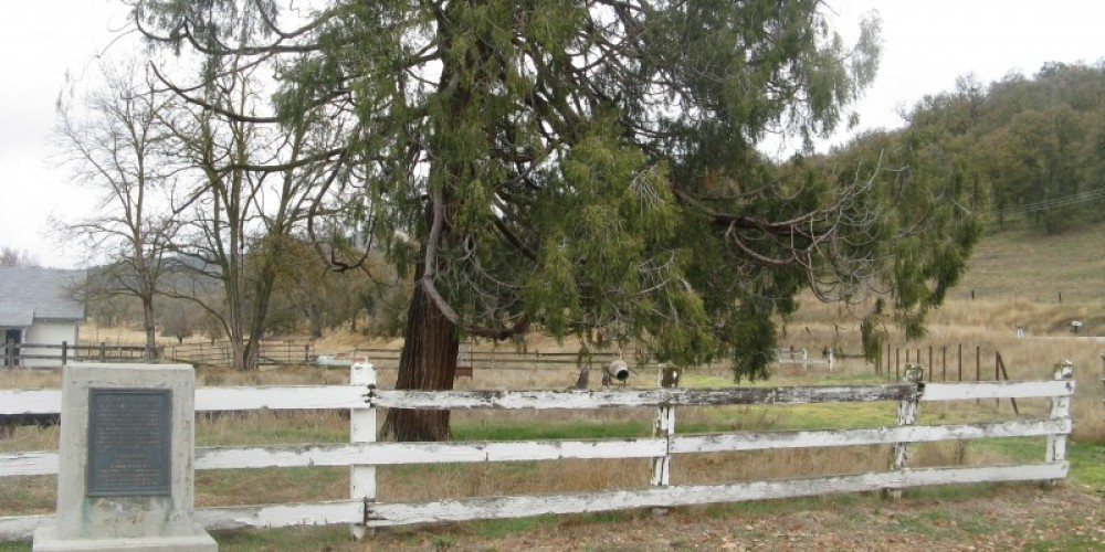 Lavers Crossing Marker and Lavers Ranch – Syd Whittle