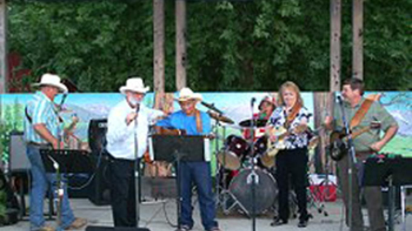 Great music every summer weekend under the stars. – Kris Casto
