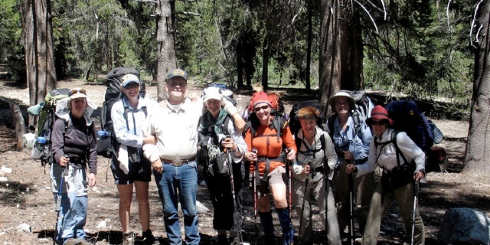 Happy hikers at the VVRd – Dave Wooley