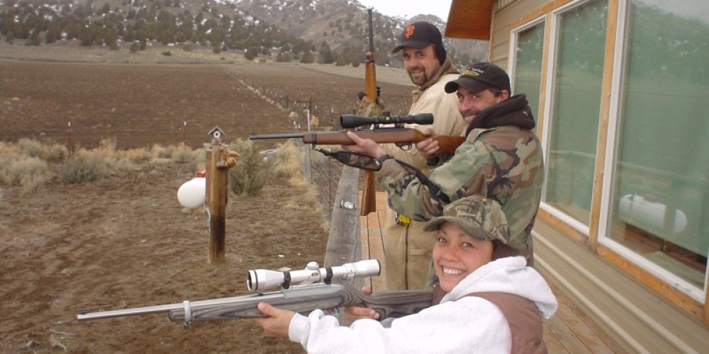 You don't have to go far to shoot Squirrels. – Jean Bilodeaux