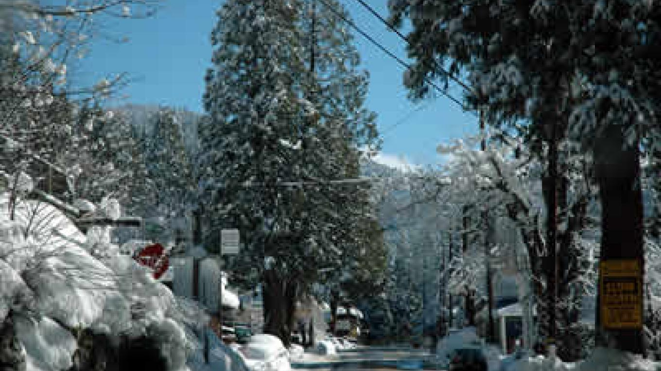 Sierra City is located at 4,200 feet and gets a lot of snow. Much  of the downtown area consists of original buildings from the gold rush era. – Mary Davey