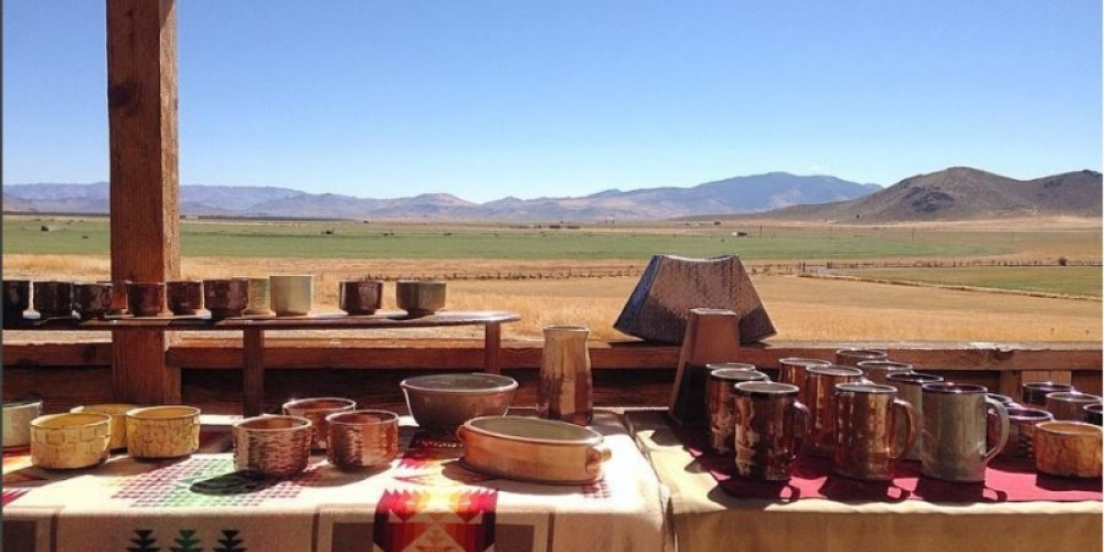 Rolling Out Clay pottery by Casey Clark – - photo credit: Casey Clark
