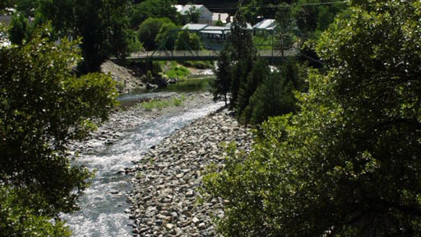 Downieville on the banks of the North Yuba River – Dave Carter