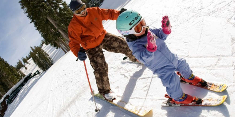 Daily kids' ski and snowboard camps at Alpine Meadows – Matt Theilen
