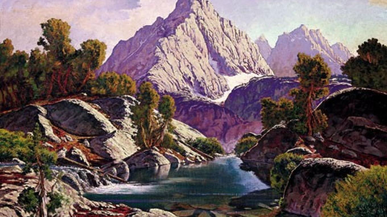 Richard Coons, Emerald Pool, Sierra Nevada, 30x36, oil/Belgian linen – Coons Gallery
