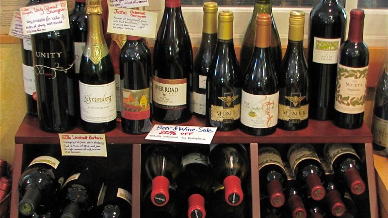 The wine selection is sophisticated. – Karrie Lindsay