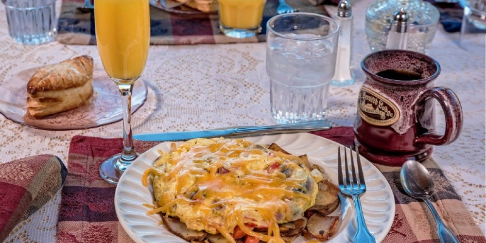 Breakfast included with all overnight stays