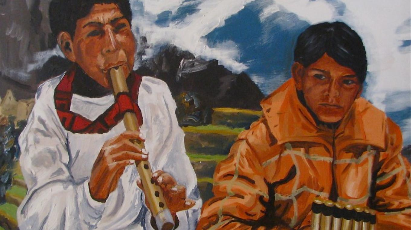 The Q'ero people live in one of the most remote parts of Andes. – Karrie Lindsay