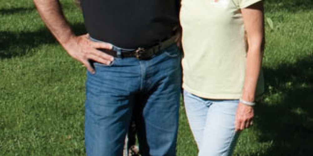Eric & Pattie Boudier have been co-owners of Peaceful Valley Farm & Garden Supply since 1996. – Stephanie Brown