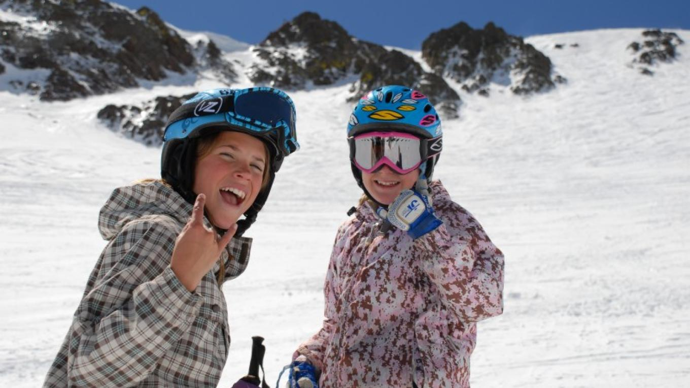 Watch out, the kids at Squaw Valley can ski with the best of them. – Tom Day