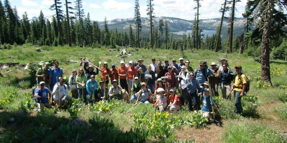REI Trail Day on Mills Peak Trail – SBTS