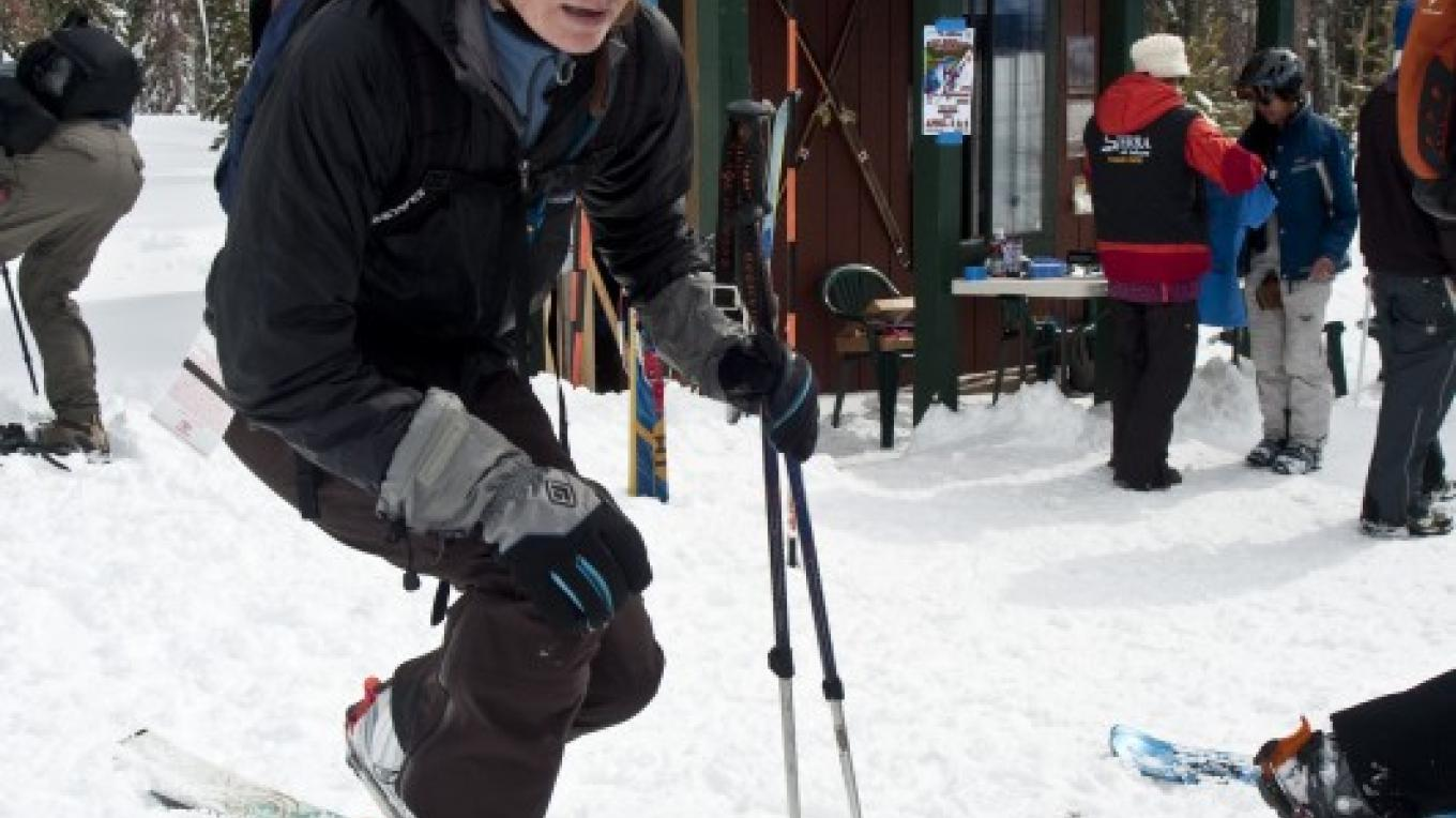 The Telemark & Backcountry Center offers lessons and rentals to help you explore Sierra Resort's off-piste terrain. – Jorik Blom