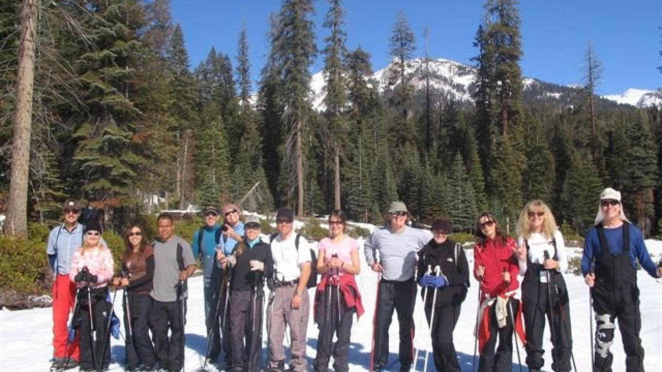 Learning to cross country ski – Provided by Sequoia Natural History Assc