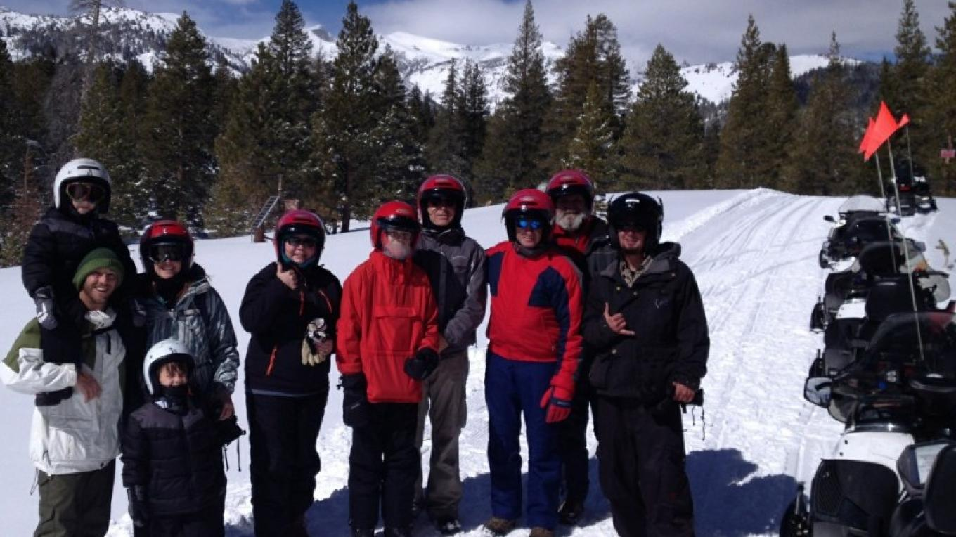 Back country Tour near Inyo Craters – DJ's Snowmobile Adventures, Inc.