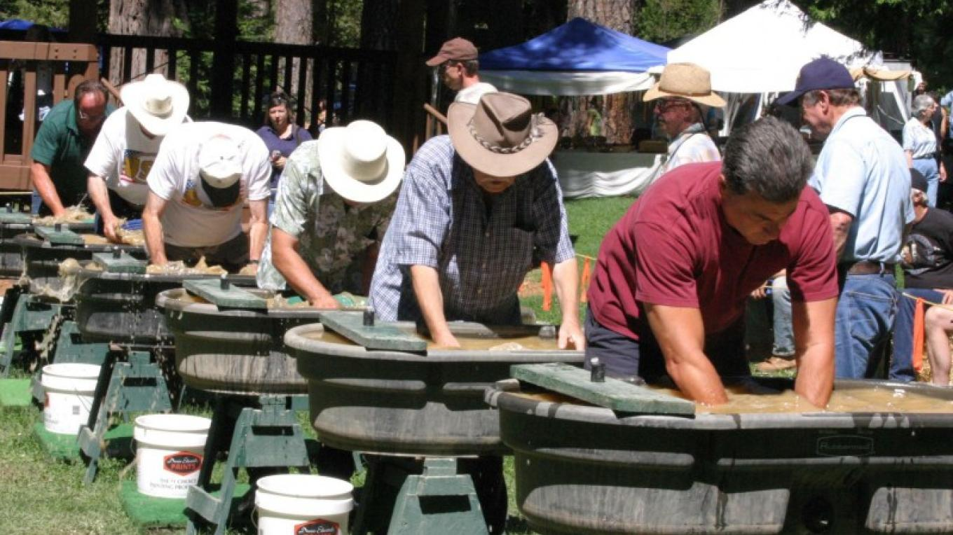 Gold Panning Competition – Debbie Griffin