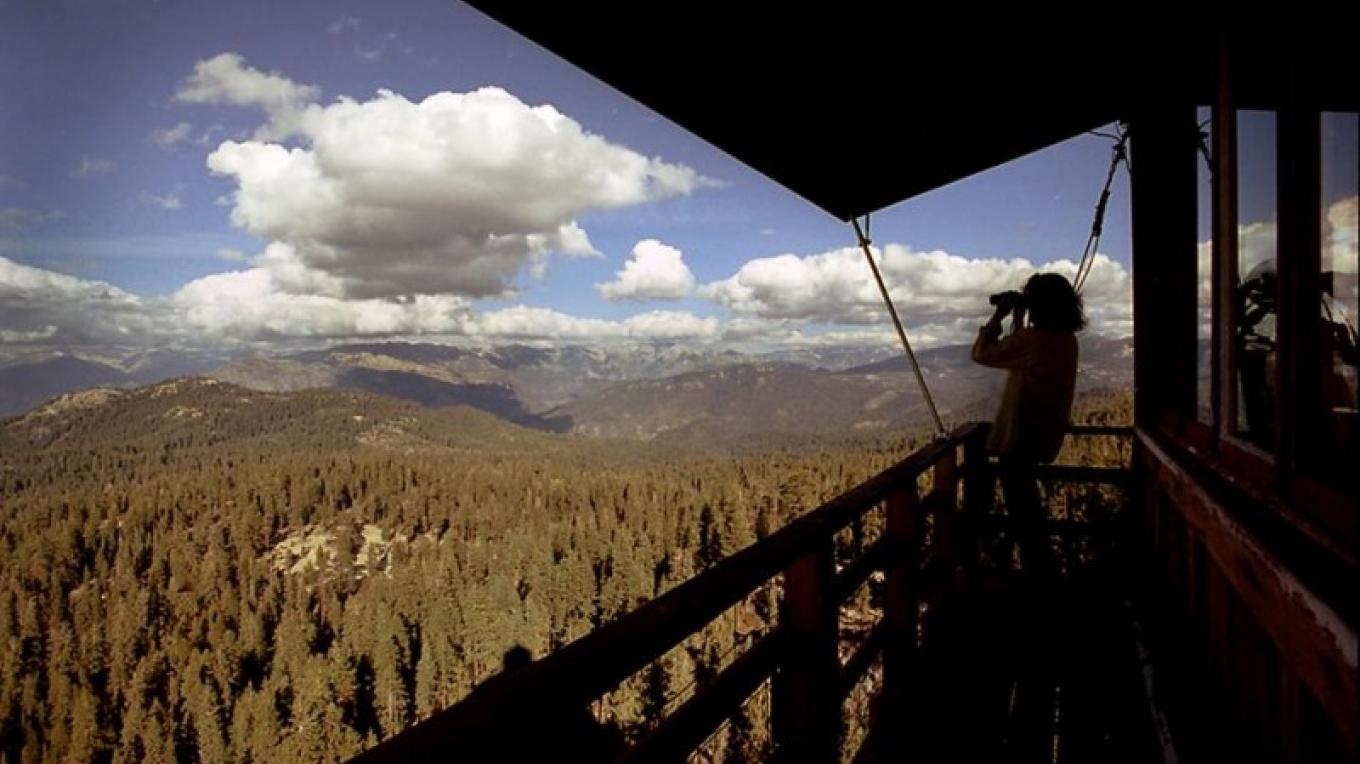 Fire lookout on the watch – Michael Darters