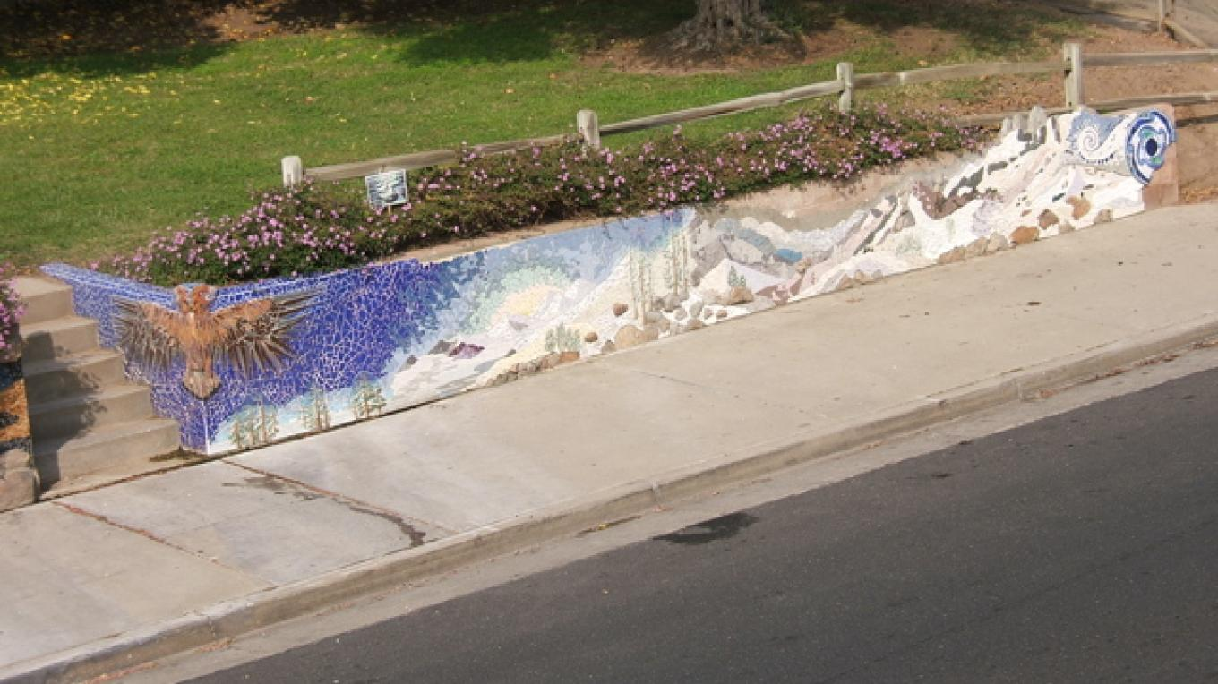 Wall from above – Frances Pyles