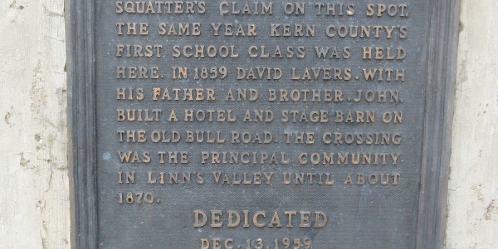Lavers Crossing Marker – Syd Whittle