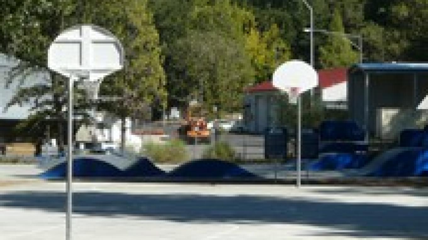 Skate Park and Basket Ball Courts