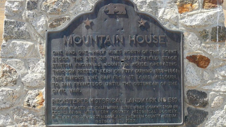 Mountain House Marker – fleeterlogs.blogspot.com