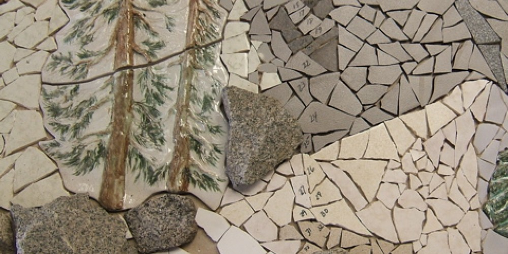 Bas Relief Layup – Frances Pyles