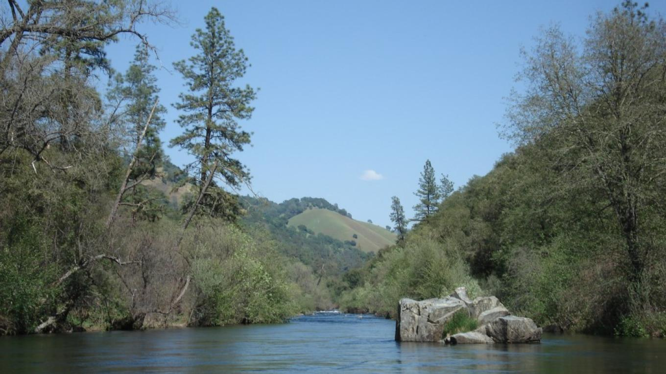 Middle Bar reach, Mokelumne River – Katherine Evatt