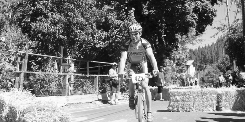 The famous Downieville Classic is a bike race that draws people from all over the world once a year – Darby Hayes
