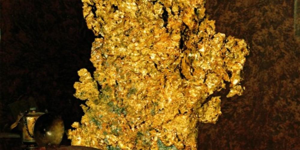 Ironstone's Heritage Museum, Crystalline Gold Specimen
