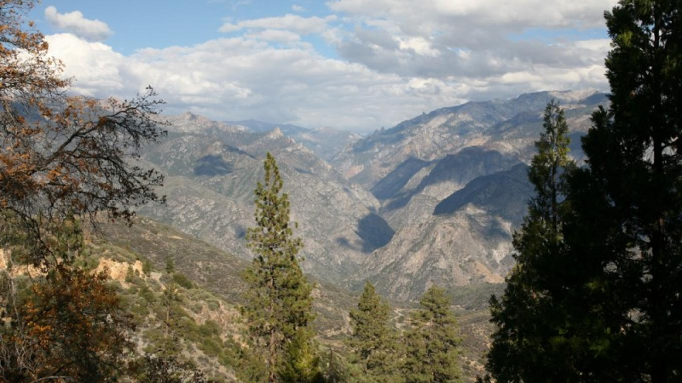 Looking into Kings Canyon – Henry J. Provost
