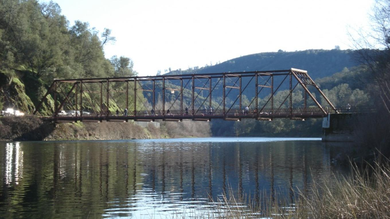 Middle Bar Bridge over the Mokelumne River – Katherine Evatt