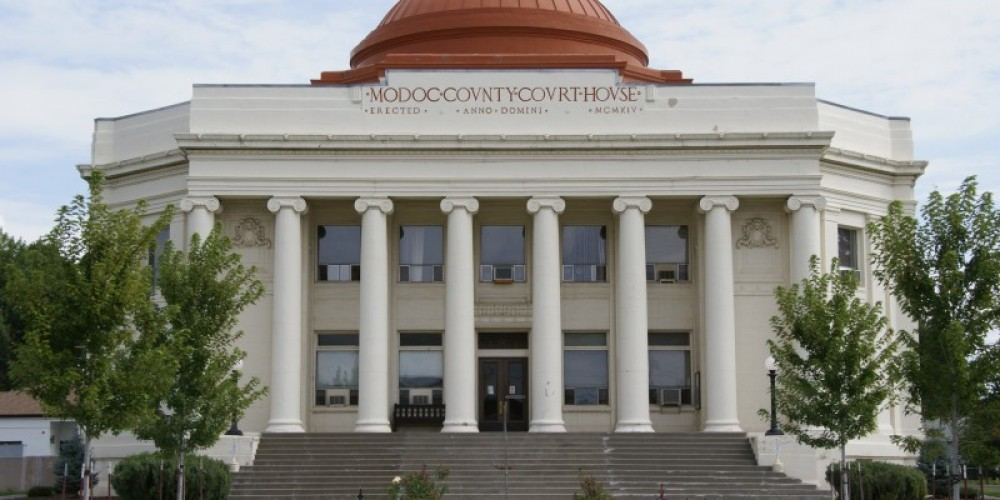 The Modoc County Courthouse as it looks today. – Lorissa Soriano