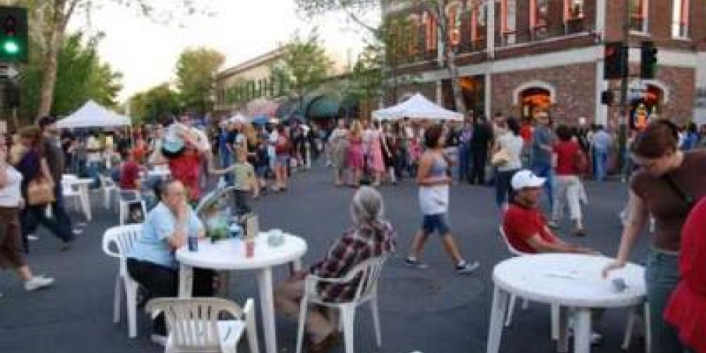 Chico Thursday Night Market.