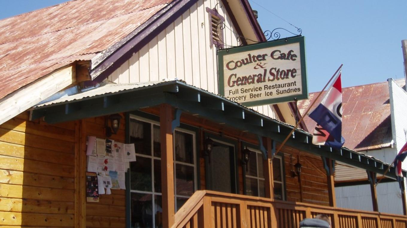 Coulter Cafe and General Store – Dale Silverman