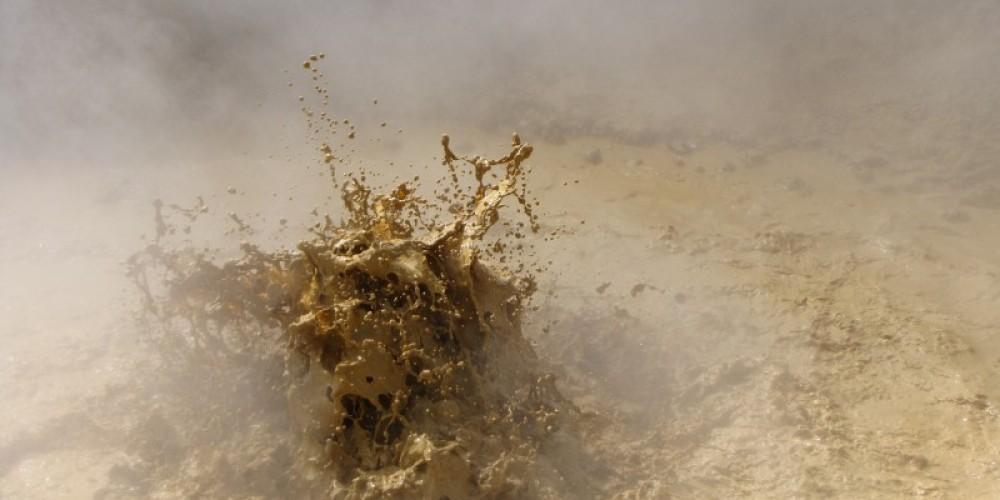 Boiling mud pot. – Ben Miles