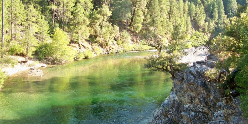 North Yuba River in Indian Vally and near the Outpost. – Lee Adams