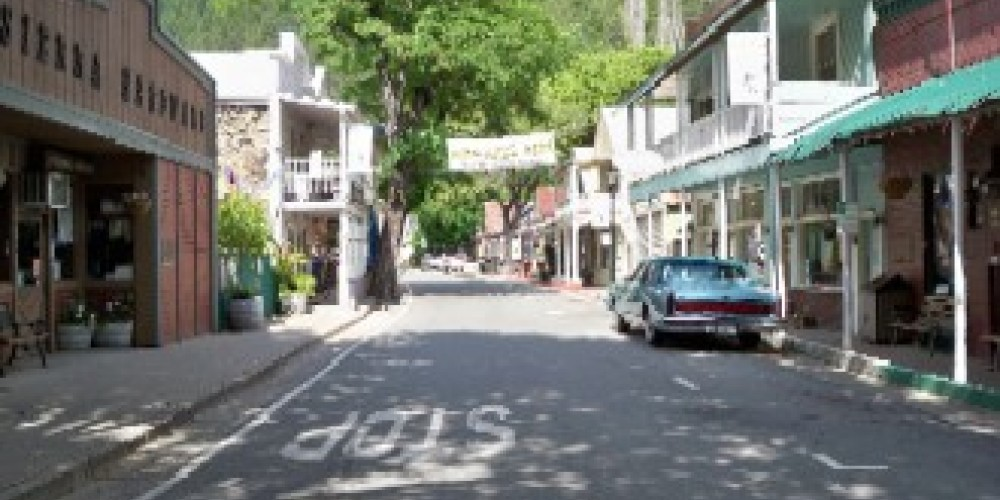"The quaint ""Gold Rush"" town of Downieville, Ca just a short distance from the Lure Resort.  The town offers some delectable dining venues and specialty shops for you to enjoy. – Zolldan Family"