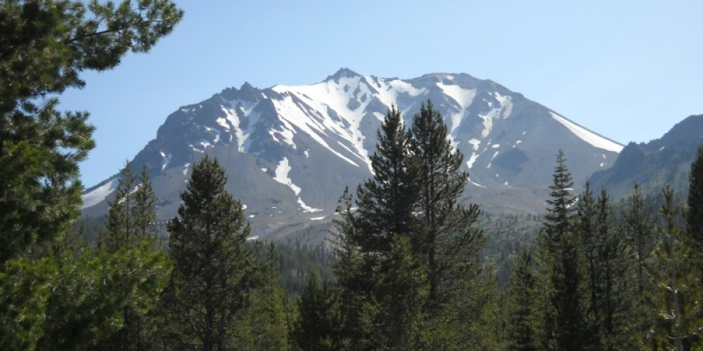 Mount Lassen in the summer. – by Suzanne Scull