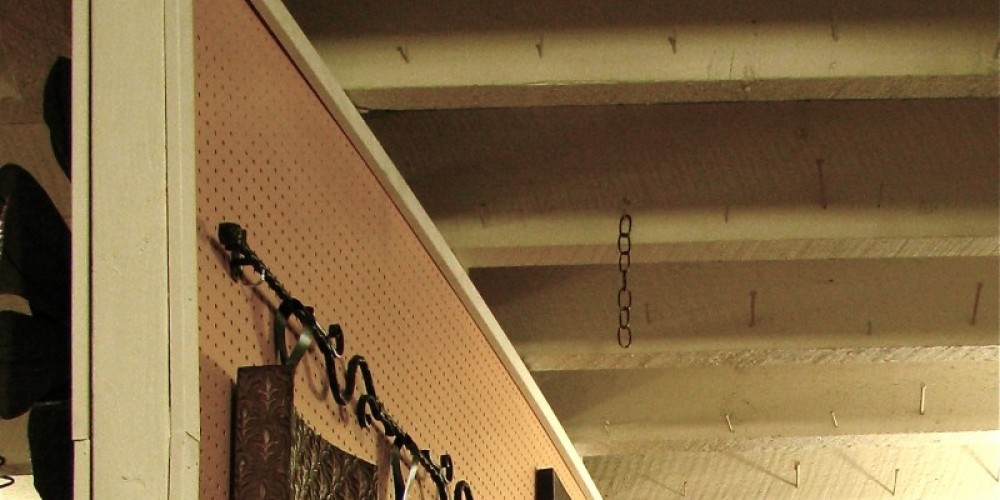 Upstairs, the original beams are still strong! – Karrie Lindsay