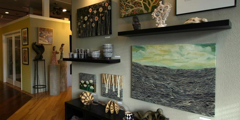 The main gallery at ASiF Studios