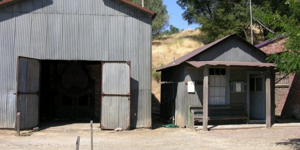 Boiler Room and Nurses Station at the Kennedy Mine East Shaft – Kathy Allen